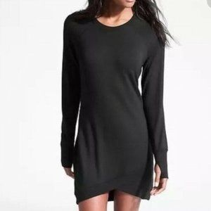 Athleta Criss Cross Sweatshirt Dress Size Small